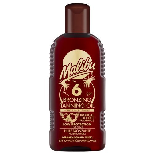 Malibu Bronzing Tanning Oil with SPF6 200 ml
