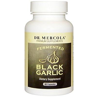 Dr Mercola Fermented Black Garlic (60 Capsules ) by Dr Mercola