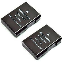 Mondpalast ® EN-EL14 ENEL14 Batería X2 para Nikon D3100 D3200 D5100 D5200 D5300 coolpix P7000 P7100