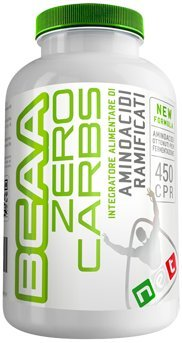 BCAA Zero Carbs - 125 cpr - NET - Aminoacidi Ramificati senza Carboidrati ottenuti per Fermentazione