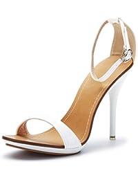 Sandali neri con chiusura velcro per donna Minetom zpNJcbklT