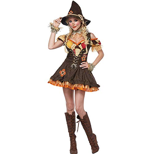 Vogelscheuche Kostüm Hunde - AIXIAOYU Cosplay Kostüme Clown Hexen Vogelscheuche Kostüme Halloween Kostüme Erwachsene