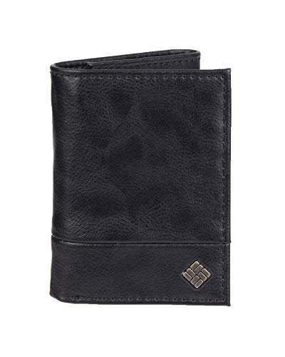 Columbia Men's RFID Blocking Security Trifold Wallet, black Stonefield One Size -