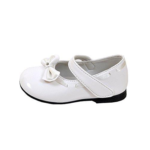familientrends , Ballerines pour fille Blanc Blanc Blanc - Blanc