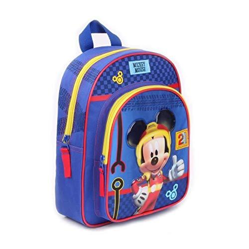 Funda Nordica Mickey Y Minnie 150.Minnie En Mickey Mouse Zainetto Per Bambini Bambini Blu Blu Taglia Unica