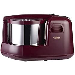 Butterfly Matchless Plus 2-Litre Table Top Wet Grinder (Cherry)