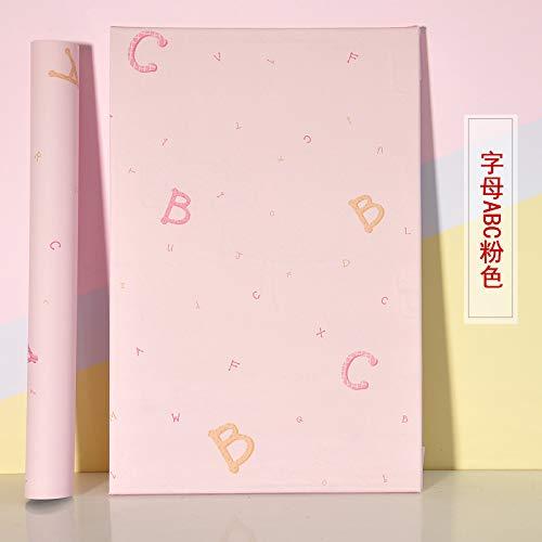 lsaiyy Selbstklebendes Papier um manuelle Schlafzimmer wasserdichte Tapete PVC Raumdekoration Tapete-60CMX5M zu tun