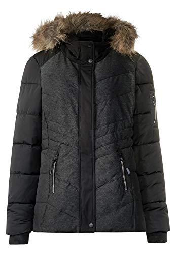 Cecil Damen Jacke B201134, Schwarz (Black 20001), Large