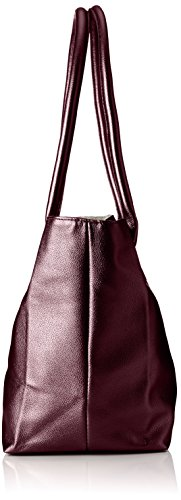 Tamaris - Louise Shopping Bag /Pack 4 Pcs, Borse a secchiello Donna Rosso (Vino)