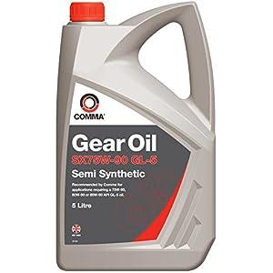 Comma SX5L 5L SX75W-90 GL-5 Semi-Synthetic Gear Oil pas cher