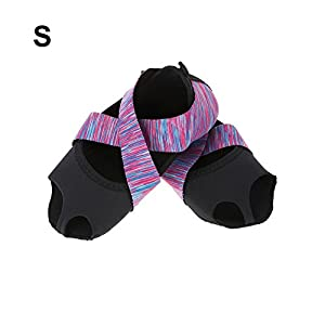 Damen/Herren Yoga Socken Anti Rutsch Pilates Socken,Yoga rutschfeste Socken Yoga Pilates Socken mit Griffe Non Slip Skid Barre Soft Tanz Trainingsschuhe Yoga Grip Socken mit Zehen für Pilates Ballett
