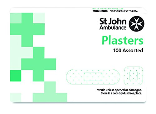 st-john-ambulance-fabric-plasters-assorted-pack-of-100-plasters