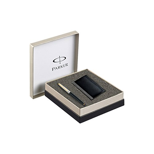 Parker Galaxy Standard GT Ball Point Pen - with Card Holder  available at amazon for Rs.850