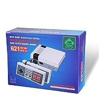 pacchetto:  1 X console di gioco  2 X controller di gioco  1 X Connessione HDMI  1 X Manuale inglese  1 X Adattatore di alimentazione  1 X scatola
