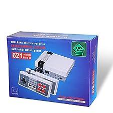 Retro classic Family Game Mini Consola HDMI - con 621 Videojuego de TV