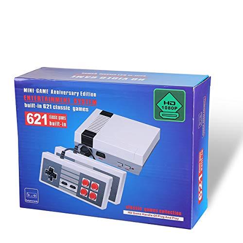 Mini Edition Classic Console per Giochi Familiari Retrò - con 621 Giochi HDMI-Esportazione