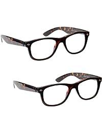 A-Urban Occhiali da lettura unisex, per le donne e gli uomini + 2.0 diottrie 2 0 - il colore della montatura turchese