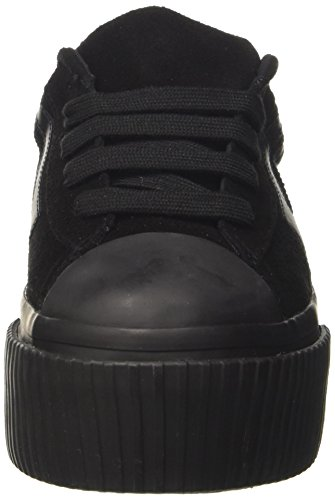 Jeffrey Campbell Jcpmongosue, Sneaker a Collo Basso Donna Nero (Suede Black)