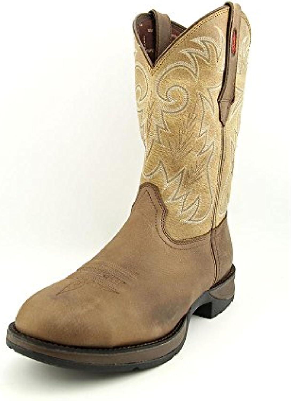 Durango Boots - Botas de equitación de Piel para hombre Multicolor multicolor 41
