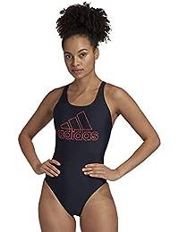 adidas FIT Suit BOS Traje de baño, Mujer, Multicolor (Tinley/Rossen), 44