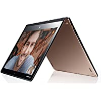 "Lenovo Yoga 3 Pro Ultrabook Convertibile Multimodalità, Display 13.3"", Quad-HD+ e IPS Multi-Touch, Intel Core M-5Y70, 8 GB RAM, SSD da 512 GB, Oro"