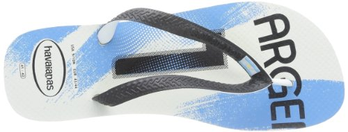 Havaianas Teams II white/black/red H4130533-3859 Unisex-Erwachsene Zehentrenner White-Black