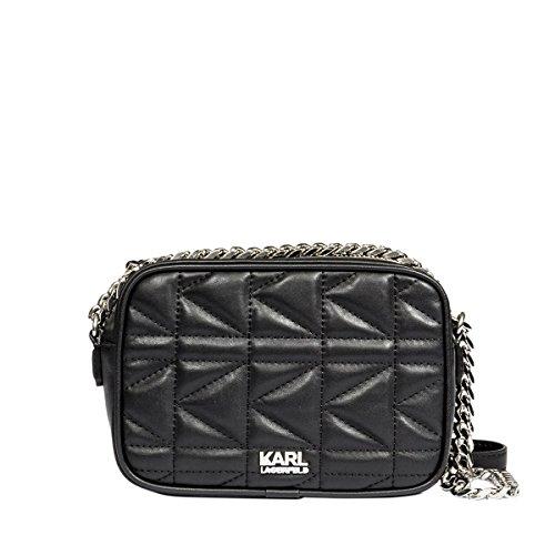 karl-lagerfeld-womens-71kw3036smooth999-black-leather-shoulder-bag