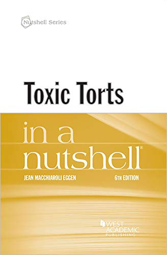Toxic Torts in a Nutshell (Nutshells) (English Edition)