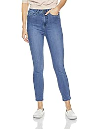 AKA CHIC Women's High Rise Slim Jeans