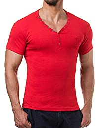 Young and Rich - T shirt homme tendance T shirt 873 rouge fashion - Rouge
