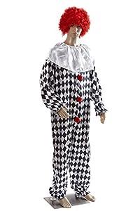 HEITMANN DECO 7533Hombre Disfraz de-Payaso, 54-56