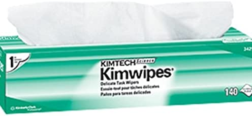 Kimtech Delicate Surface Wiping Cloth for Scientific Institutions in Bulk (140 Sheets per pack,15 packs) by Kimberly-Clark