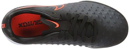Nike Jr Magistax Opus Ii Tg, Chaussures de Football Garçon Noir (Black/Black)