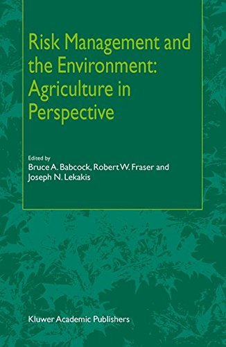Risk Management and the Environment: Agriculture in Perspective (English Edition)