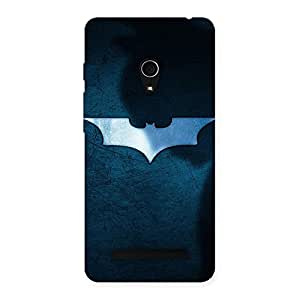 Enticing Blueish Knight Back Case Cover for Zenfone 5