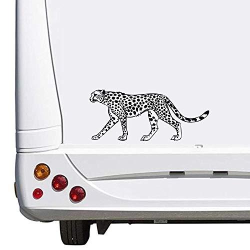 ohnwagen Caravan Camping Holiday Urlaub ca. 30cm Aufkleber Autoaufkleber Sticker Womo Wowa ()