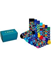 Happy Socks 7 Day Caja de Regalo Paquete de 7