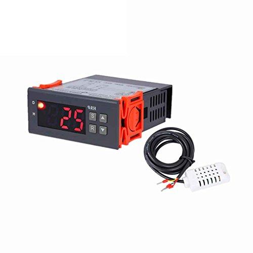 Digitaler Luftfeuchtigkeitsregler Feuchteregler Luftfeuchte Regler für 1% RH - 99% RH Hygrostat Humidistat Befeuchtung Entfeuchtung Werkzeug AC220V