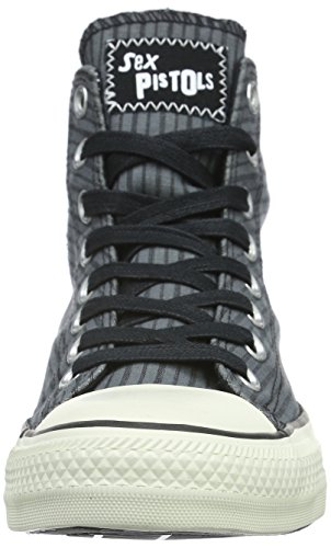 Converse Unisex-Erwachsene Chuck Taylor All Star Sex Pistols High-Top Grau (Thunder/Black/Egret)