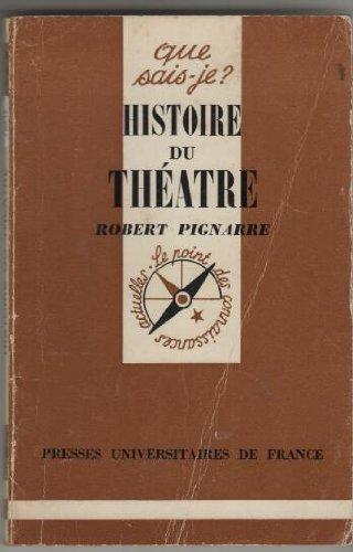 Histoire du Theatre par P. Pignarre