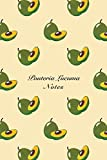 """Pouteria Lucuma Notes: 6""""x9"""" Unruled Blank Notebook Watercolor Texture Design Tropical Organic Fruit Pattern Cover. Matte Softcover Note Book Journal from CreateSpace Independent Publishing Platform"""