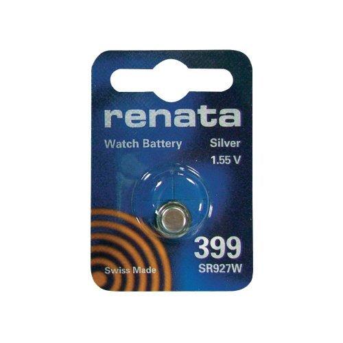 Renata / Swatch Group - Knopfzelle Silberoxid 399 RENATA 1.55V 55mAh - Blister(s) x 1
