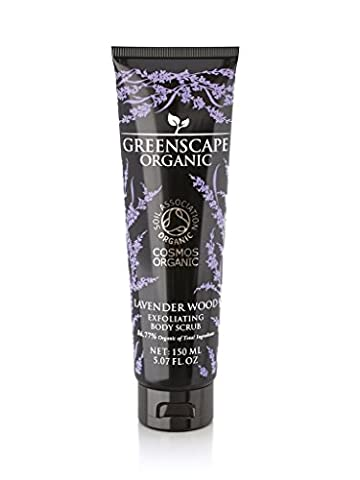 Greenscape Organic Lavender Wood Body Scrub