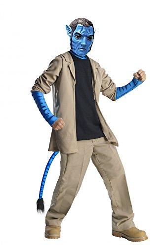 Kostüm Kinder Deluxe Jake - Avatar Jake Sully Deluxe Kostüm Kinder Kinderkostüm Pandora Fabelwesen Gr. S - L, Größe:S