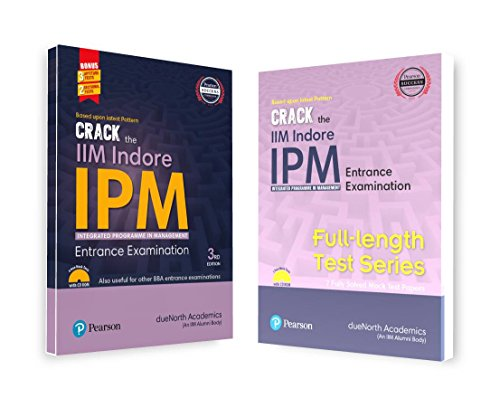 A Complete Preparation Combo of Crack the IIM Indore  – IPM Entrance Examination & Full Length Test Series (Set of 2 Books)
