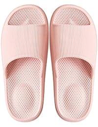 CAI&HONG-Daily GCH Zapatillas de baño Masaje Fondo Grueso Verano Antideslizante Interior, H, 42-43