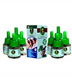 MOS Protector Herbal Liquid Mosquito Repellent Vaporizer Refill (Pack of 8)