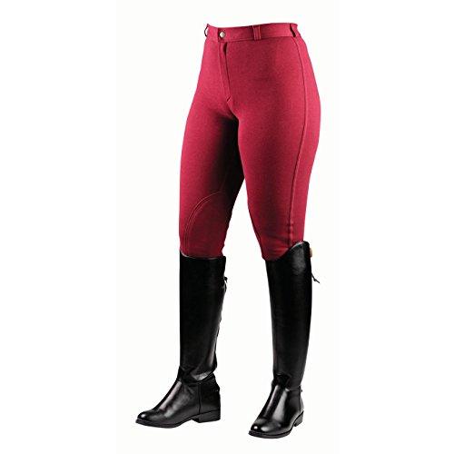 Saxon , Chaussures d'équitation pour homme rouge - Wine