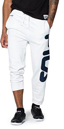 Fila Classic Basic Pantalone da tuta blanco