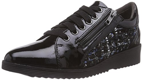 Tamaris 1-1-23701-25 098, Low-Top Sneaker donna, Multicolore (Mehrfarbig (Black Comb 098)), 40